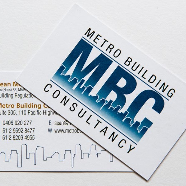 Recycled Business Card Example 3