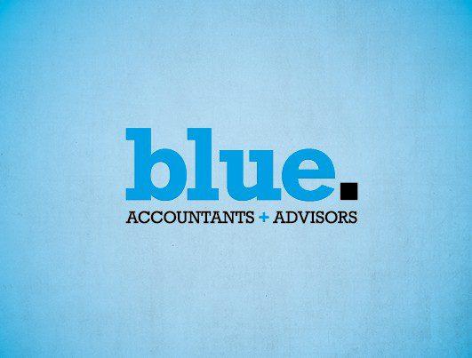 Blue Accountants Logo Design