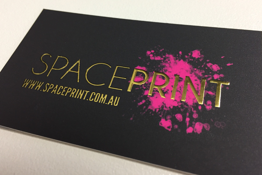 Gold foil business cards raised gold foil free express delivery gold business cards colourmoves