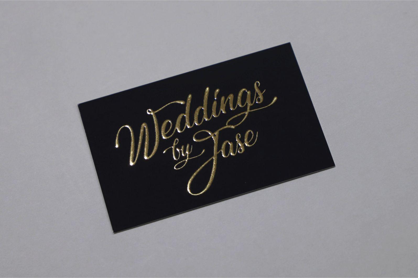 ec9b177fd14 Gold Foil Business Cards | Raised Gold Foil Printing | Free Fast ...